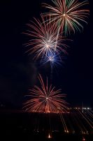 2009 fireworks 4 by AmblingPhotographer
