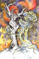 Dryad of the burnt wood by Last-Valentine