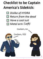 Coulson's Checklist by ShiningamiMaxwell