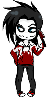 New version: Jeff The Killer by Lofi-Senpai