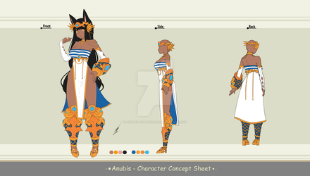 Adoptable Auction - Anubis (CLOSED) by Asgard-Chronicles