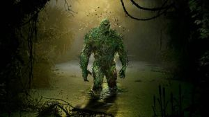 DC swamp thing by jersonayala27