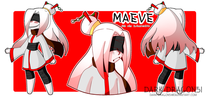 Maeve Reference by StarFishii