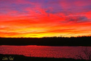 colourful sunset by Zlata-Petal