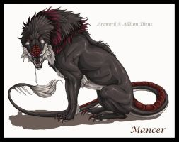 CME's Mancer by beastofoblivion