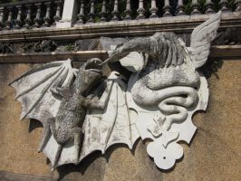 Dragons Statue Stock by sirkeht