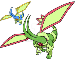 330 - Flygon - Art v.2 by Tails19950