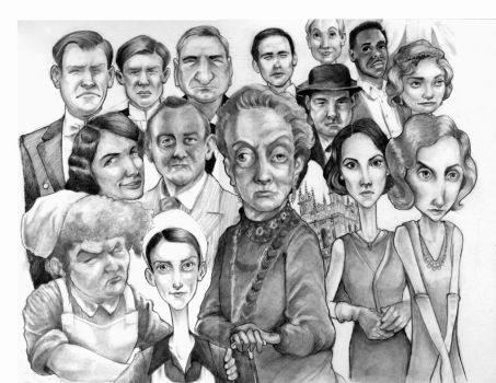 Downton Abbey by bms-DA
