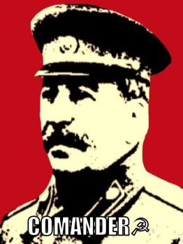 Joseph Stalin: Russian Comrade by F1st-of-R3volution