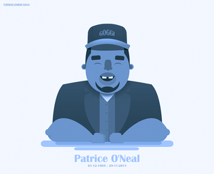 Patrice O'Neal by firmacomdesign