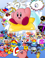 Kirby 20th Anniversary Collab by Jdoesstuff