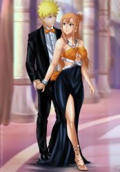 Commission: Naruto X Sasame - let the evening begi by Amenoosa