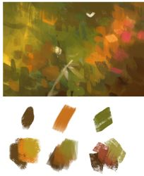 Painterly Brushes by sandara