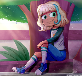 Jackie -Profile- (Commission) by The-Butcher-X