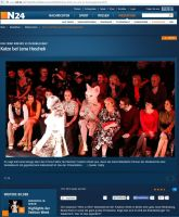 News Television N24 about Tushette at fashionshow by Mystic-Creatures