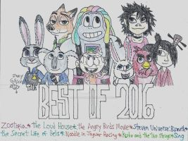 Best of 2016 by CelmationPrince