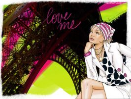 Love me Paris by misscam-ftw