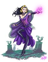 Liliana Vess MTG Fan art by AllanPaz