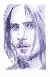 Jared Leto by Olevelaya