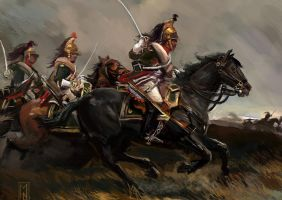French Dragoons of the Napoleonic Era by Mitchellnolte