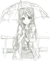 rains the day by freiza1234