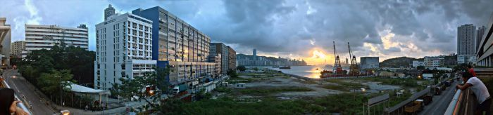 Panorama - Yau Tong (HDR) by Dystatic-Studio