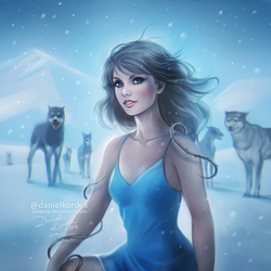Taylor: Out of the woods by daekazu