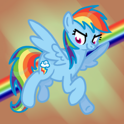 Square Rainbow Dash by LiganTM