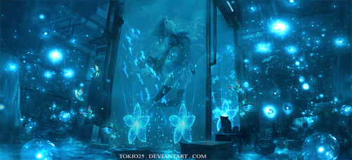Glow in The Water by Tokio25