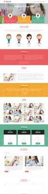 Creche WordPress Theme by sandracz
