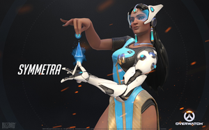 Symmetra - Overwatch by PlanK-69