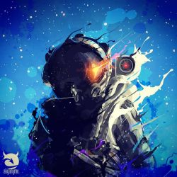 Astronaut by akyanyme