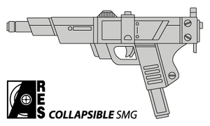 Ares Collapsible SMG by fexes