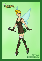 Disney's Princesses of Light - Tinker Bell by Femmes-Fatales