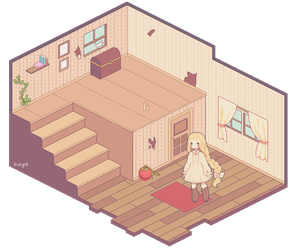 {wip} Pixel Vignette by sulyia