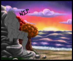 Autumn by the Sea WIP by Taulha