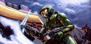 Master Chief: Surrounded by Tanqexe