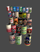 XPS - Canned liquor starter pack V.2 (REM) by DigitalExplorations