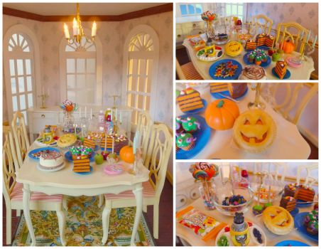 Halloween party by LittlestSweetShop