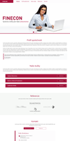 Simple website for finecon by jozef89
