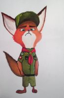 Young Nick Wilde from Zootopia by Latias22