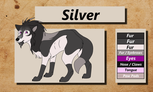 Silver Reference by TheWolfFight