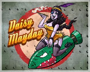 Daisy Mayday by hooksnfangs