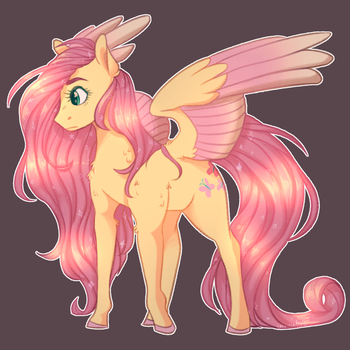 fluttershy by snowolive