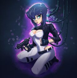 Major Kusanagi by MichelVerdu