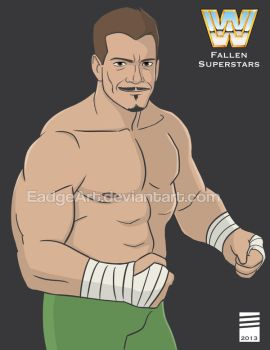 WWE Fallen Superstars: Eddie Guerrero by EadgeArt