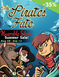 The Pirate's Fate:Humble Store Summer Sale 35% off by volkenfox