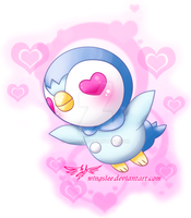 PKM - Piplup by Wingsie