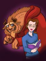 Beauty and the Beast  by moviedragon009v2