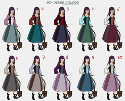 ::Sif dress colors:: by sionra